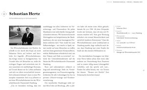 """Interview im Bildband """"Schätze Hamburgs"""", erschienen im Kapitänverlag 2011, ISBN-13: 978-3000332081"""