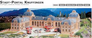 """Contentpflege der Rubrik """"Radio Eriwan"""" im Stadtportal Knuffingen, Webseite des Miniatur Wunderland Hamburg"""
